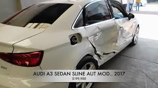 Autos AUDI A3 2017 Accidentados