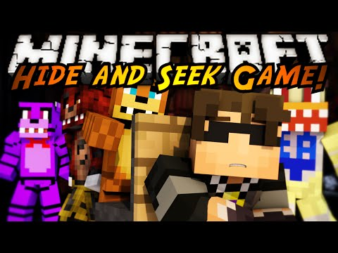Minecraft Mini-Game : FIVE NIGHTS AT HIDE AND SEEK!