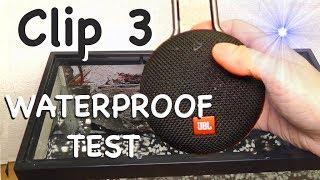 JBL Clip 3 waterproof test - Portable bluetooth speaker
