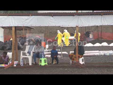 LIBERIA: EBOLA CONCERN FOR HEALTHCARE WORKERS