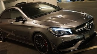 Mercedes CLA 45 AMG pure sound !!!LOUD!!!