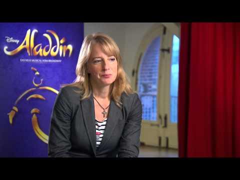 Interview mit Uschi Neuss zur kommenden ALADDIN Produktion 2015 in Hamburg