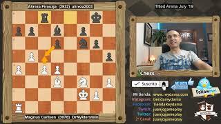El Niño genio Persa GANA a Carlsen y le QUITA el TORNEO! Magnus Vs Firouzja