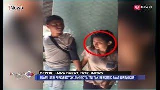 Viral! Detik-detik Penangkapan Pasutri Pengeroyok TNI di Citayam - iNews Sore 17/12