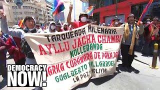 "Bolivian U.N. Ambassador: ""Racist Elite"" Engineered Coup to Restore Neoliberalism in Bolivia"