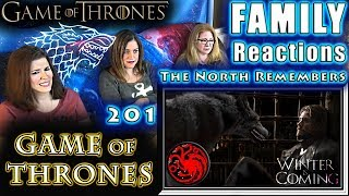 Game of Thrones 201 | The North Remembers | FAMILY Reactions | Fair Use