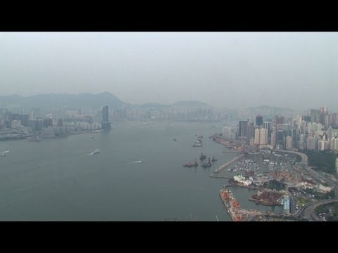 Hong Kong: le trafic maritime, facteur de pollution de l'air