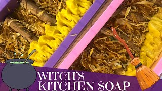 Making of Witch's Kitchen Cold Process Soap | 🧹  GYPSYFAE CREATIONS