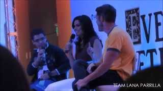 Lana Parrilla and Sean Maguire  Panel - Ever After 2015