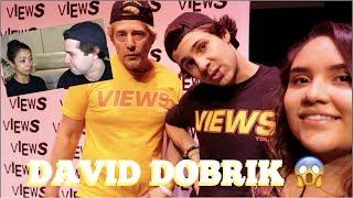 How I met my favorite youtuber (ft. DAVID DOBRIK)