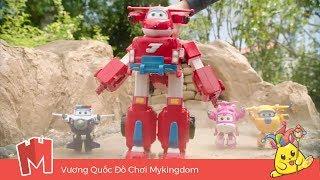 Đồ chơi mô hình SuperWings | Siêu Robot biến hình thành xe cứu hộ khổng lồ