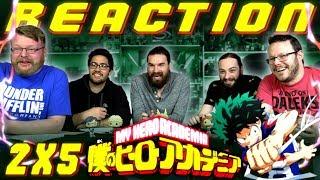 "My Hero Academia [English Dub] 2x5 REACTION!! ""Cavalry Battle Finale"""