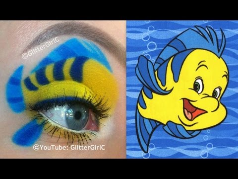 Flounder Makeup Tutorial