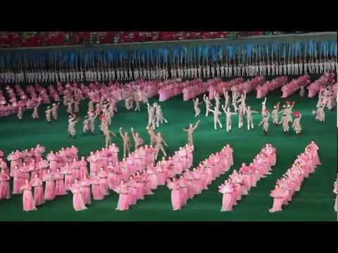 Arirang mass games 2011 in North Korea, a long summary