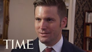 White Nationalist Richard Spencer Reacts To Trump's Belated Condemnation Of Charlottesville | TIME