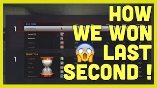 Rainbow Six Siege - How to win last second epic gameplay