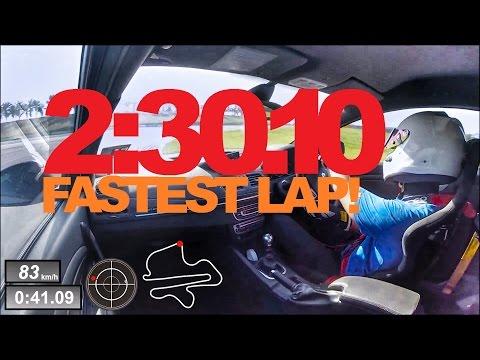 Renault Megane Sepang Lap Record! 16 Jan 2015   2:30.100