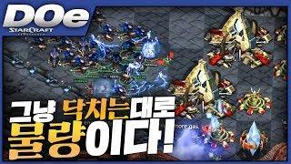 2019.7.12(금) Zerg 『기술이고 뭐고 닥치고 물량!』 물량 앞에 장사없다!