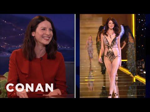 Caitriona Balfe Was The Whitest Victoria's Secret Model  - CONAN on TBS thumbnail