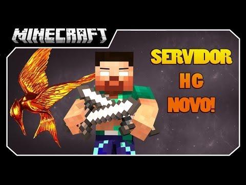 Minecraft MEU Servidor HUNGER GAMES