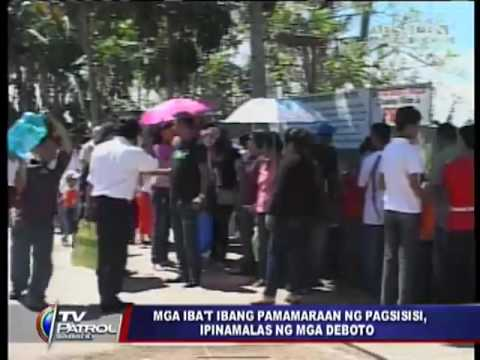 Filipinos commemorate Easter in various ways