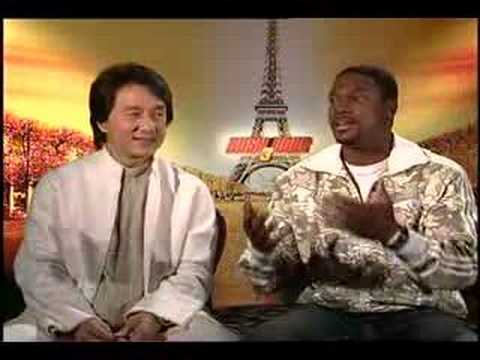 Jackie Chan Chris Tucker interview for Rush Hour 3 Video