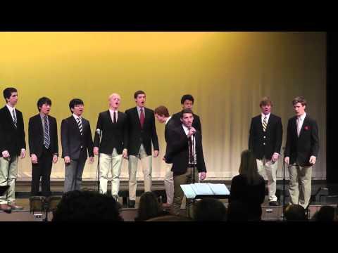 "Trinity School Owls Ensemble sing ""Uptown Girl"" - 05/08/2013"
