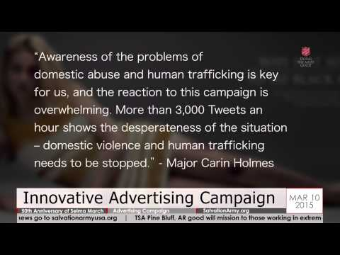 Salvation Army Today - 03.10.2015 - 50th Anniversary of Selma March; Innovative Advertising Campaign