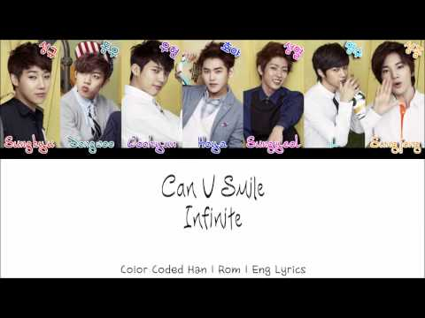 Infinite(인피니트) - Can You Smile [Color Coded Han|Rom|Eng Lyrics]