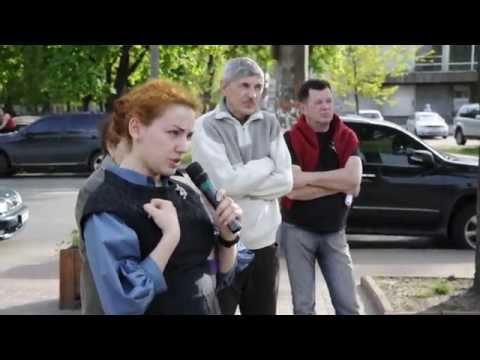 Провокация возле парка Отрадный. 27.04.2014 (HD)