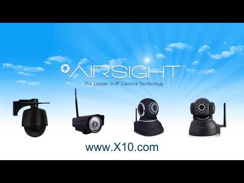 AirSight IP Camera QR Code Set-up Demonstration