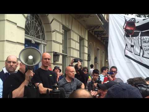 Football Supporters' Speech after meeting Premier League's Richard Scudamore