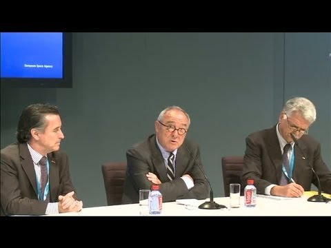 Paris Air and Space Show 2013 - Press conference: Jean-Jacques Dordain