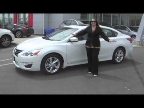 Woodchester Nissan: This Is My 2013 Nissan Altima for Alex