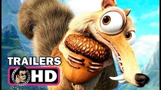 ICE AGE 1-5 All Scrat Movie Clips & Trailers (2002 - 2016)