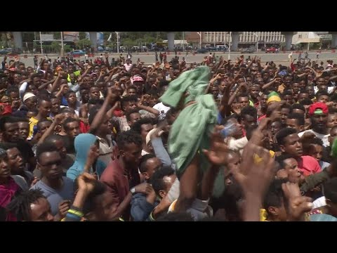 Ethiopia violence: 1200 detained after Addis Ababa clashes thumbnail