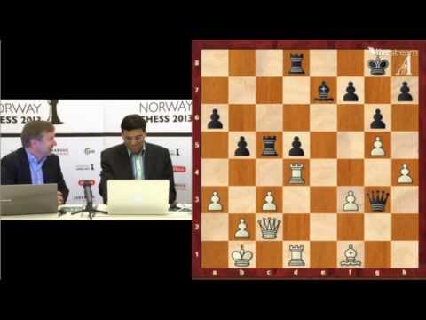 Vishy Anand Press Conference Norway Chess 2013