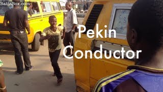 Nigeria's Youngest Bus Conductor in Ajegunle (Real-Life Nollywood)