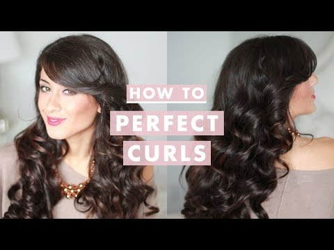 How To: Perfect Curls for the Holidays