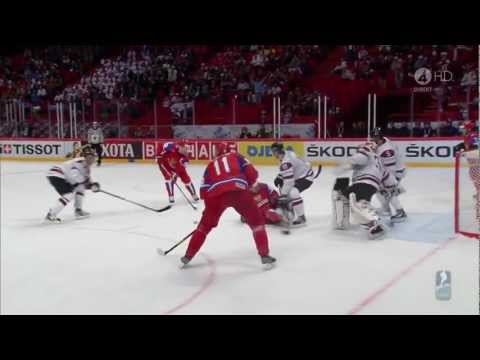 GREAT GOAL BY EVGENI MALKIN vs. LATVIA █ IIHF World Championship 2012 █ 720p HD