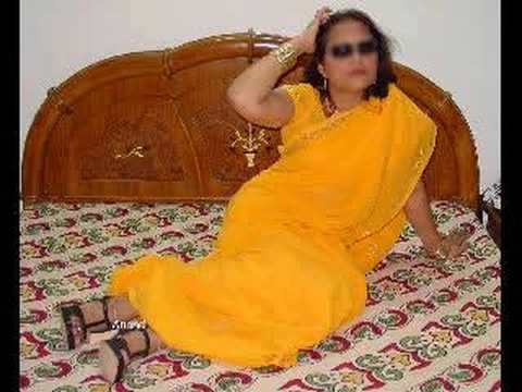 Beautiful Indian Woman In Saree video