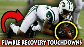 Greatest Fumble Recovery Touchdowns (Recent)