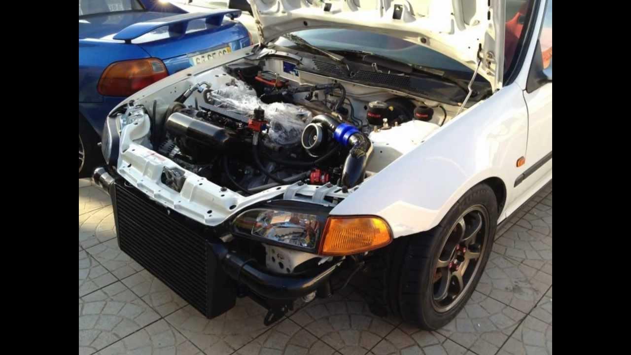 Honda Civic K20 Turbo Portuguese Honda Civic Eg6 K20