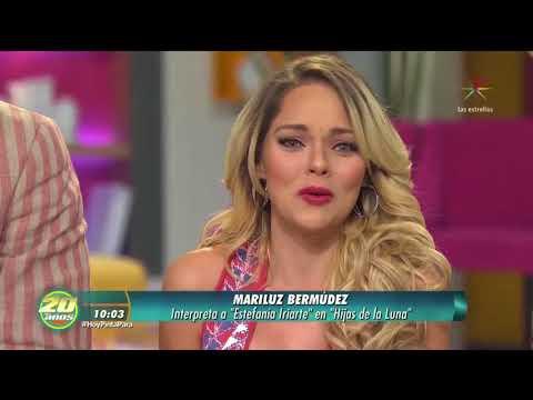 Mariluz Bermúdez y elenco de #HijasDeLaLuna en #ProgramaHoy - Año: 19 Feb 18