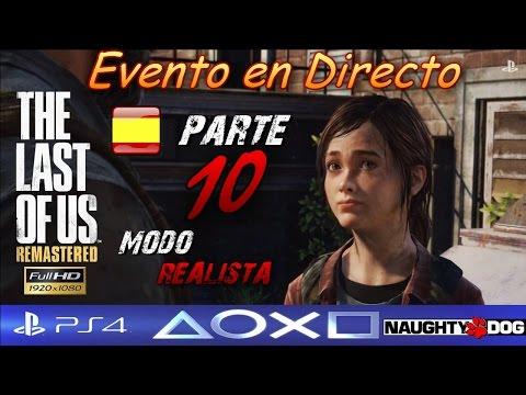 The Last of Us Remasterizado PS4 REALISTA Capítulo 9# Parque de autobuses-Full HD 1080p DIRECTO