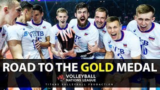Russia - Road to the Gold Medal | Men's VNL 2019