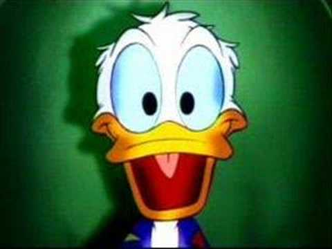 Donald Duck By Robin Williams Youtube