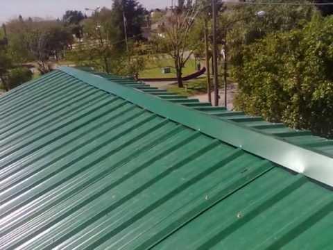 Ventilacion para techos de chapa