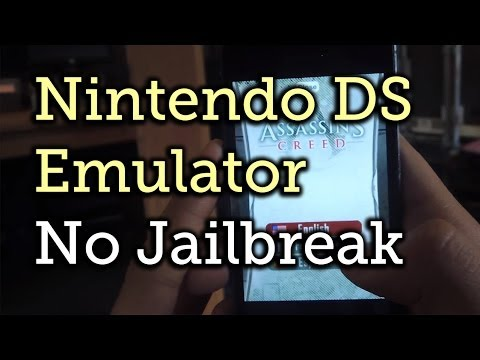 Free No Jailbreak (NDS4iOS) & How To Install DS Games IPad, IPhone