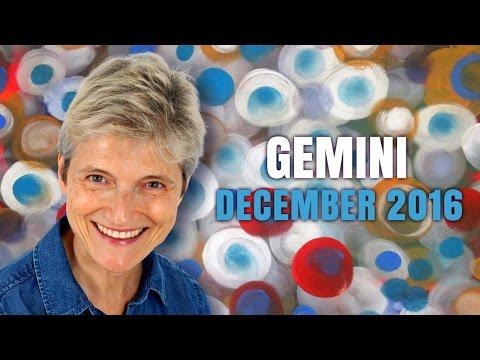 GEMINI DECEMBER 2016 Astrology | Barbara Goldsmith